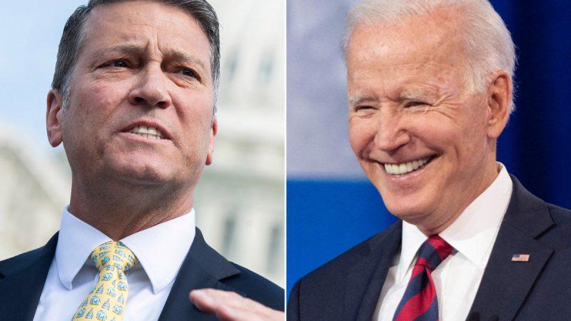 BOMBA: O deputado Ronny Jackson, ex-médico da Casa Branca, prevê que Biden será forçado a renunciar
