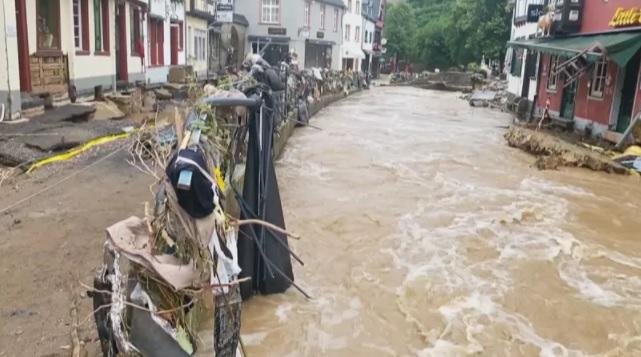 Na Alemanha, barragem se rompe e causa mais evacuações por enchentes