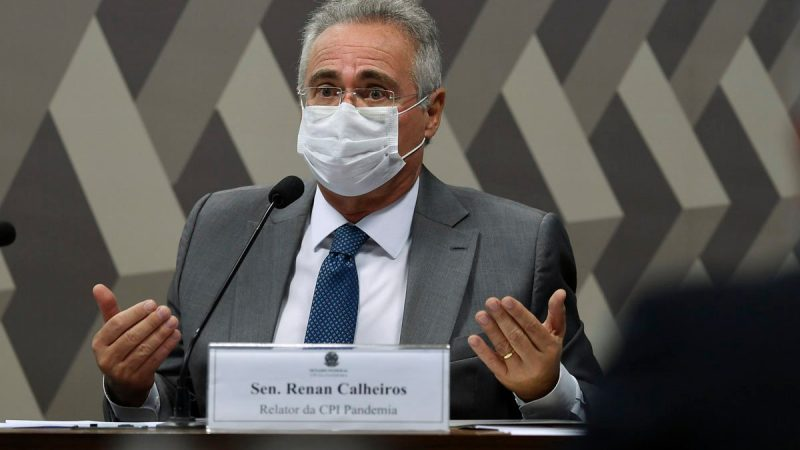 URGENTE: PF indicia Renan Calheiros por corrupção passiva e lavagem de dinheiro