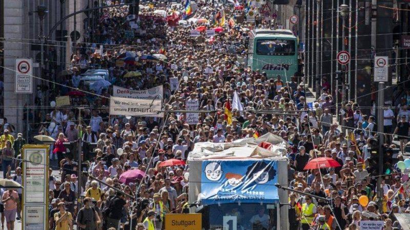 Berlim proíbe protestos contra medidas restritivas