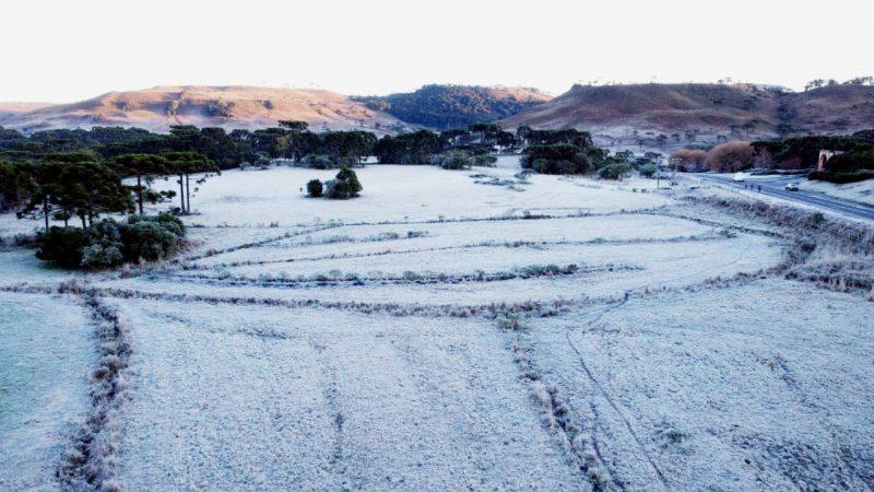 Massa de ar polar chega ao país com chance de neve