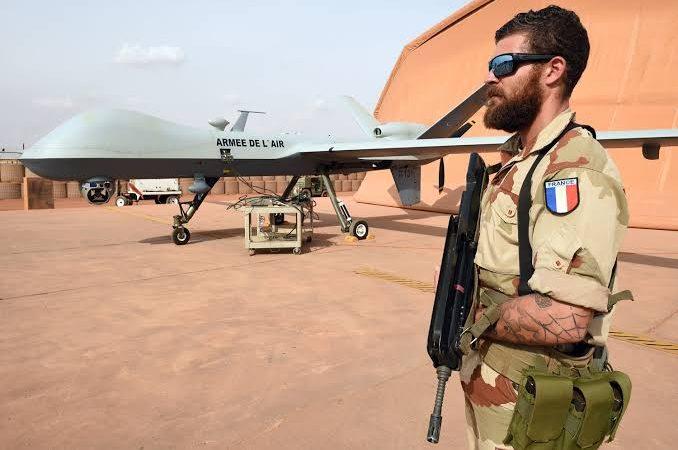 Frota de drones da França em plena expansão