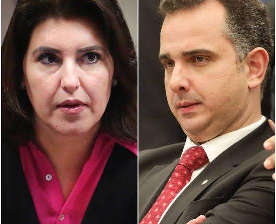 """Mais """"vias"""": Quarta via seria Simone Tebet e quinta via Rodrigo Pacheco"""