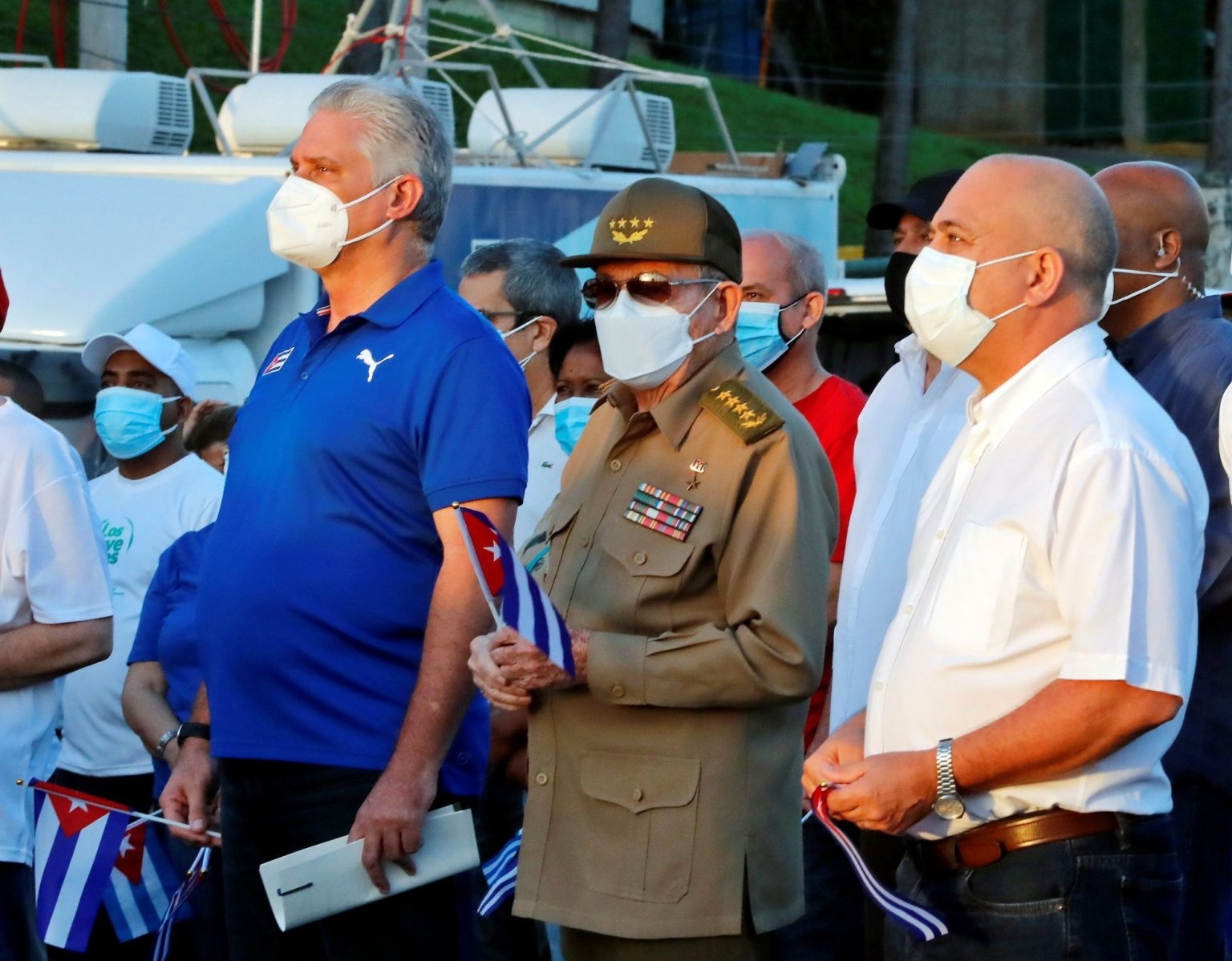 Ditadura promove comício em Cuba após protestos pró-democracia