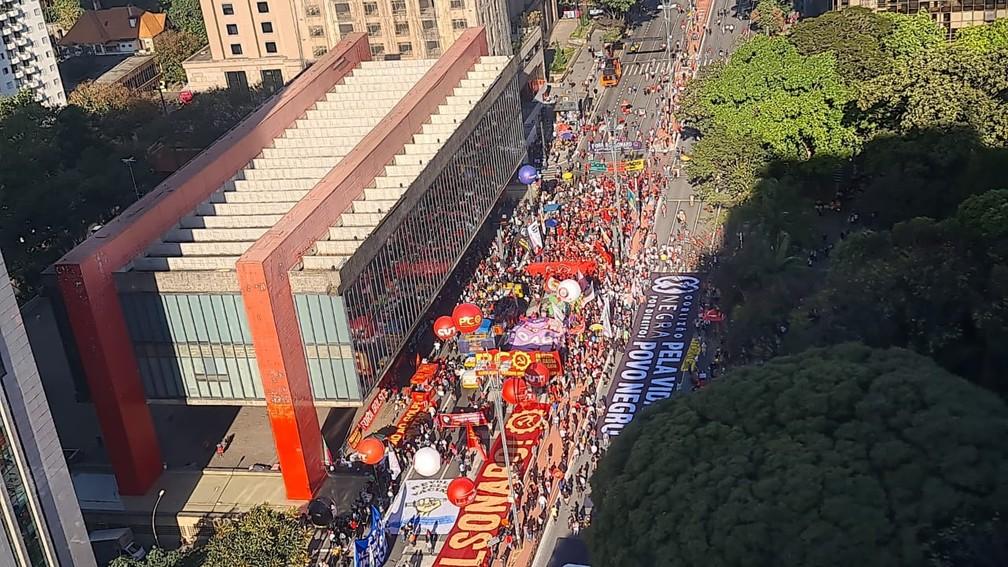 """Atos contra Bolsonaro na Paulista foram um desastre: """"em torno de 1000 vândalos"""""""