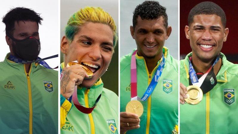 OIimpíadas: Ouros de atletas do Nordeste turbinaram desempenho do Brasil