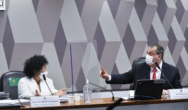 Barroso extingue denúncia de que Nise Yamaguchi foi humilhada na CPI