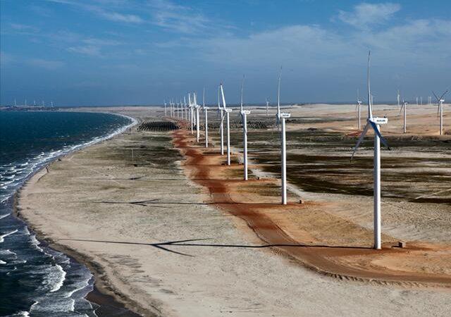 Energia eólica produzida no Nordeste vai compensar escassez de Sul e Sudeste