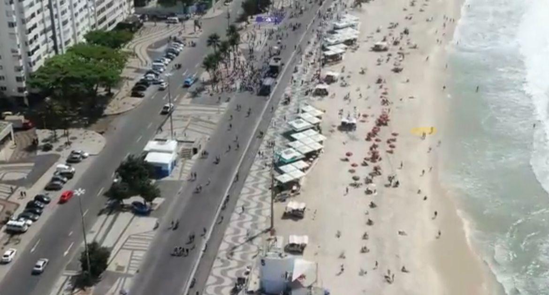 Como era esperado: Fiasco também no Rio de Janeiro com as manifestações contra Bolsonaro, VEJA VÍDEO
