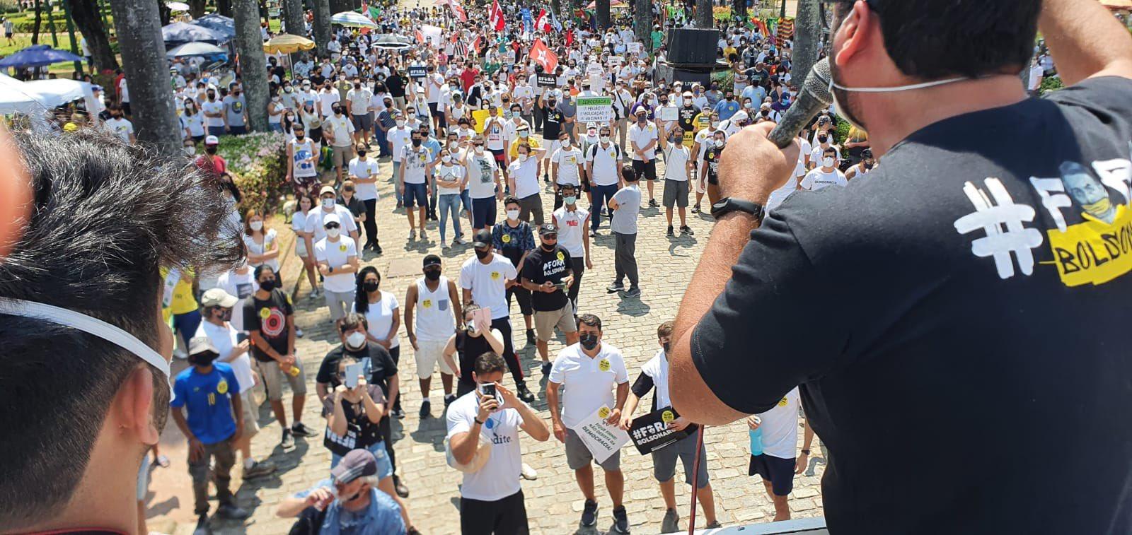 Belo Horizonte: Ato do MBL contra Bolsonaro fica esvaziado