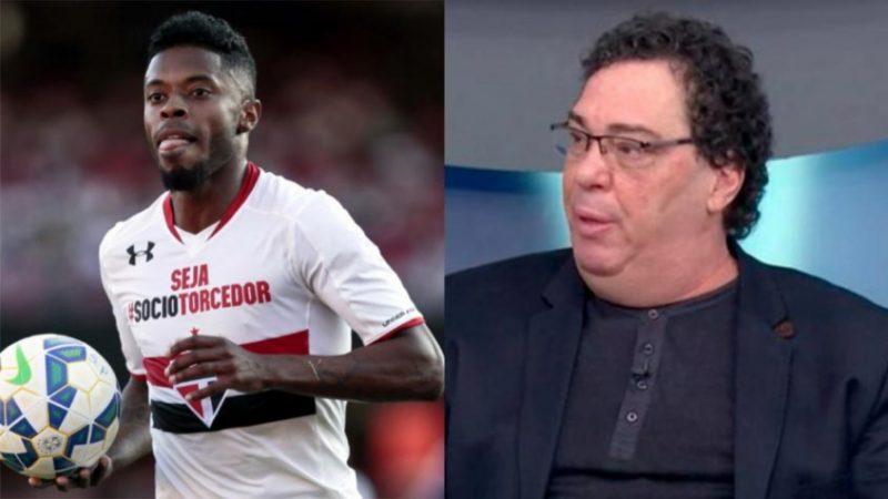 'Quero ver se a Globo não te pagar, o que aconteceria', reage Michel Bastos a comentário de Casagrande sobre Dani Alves