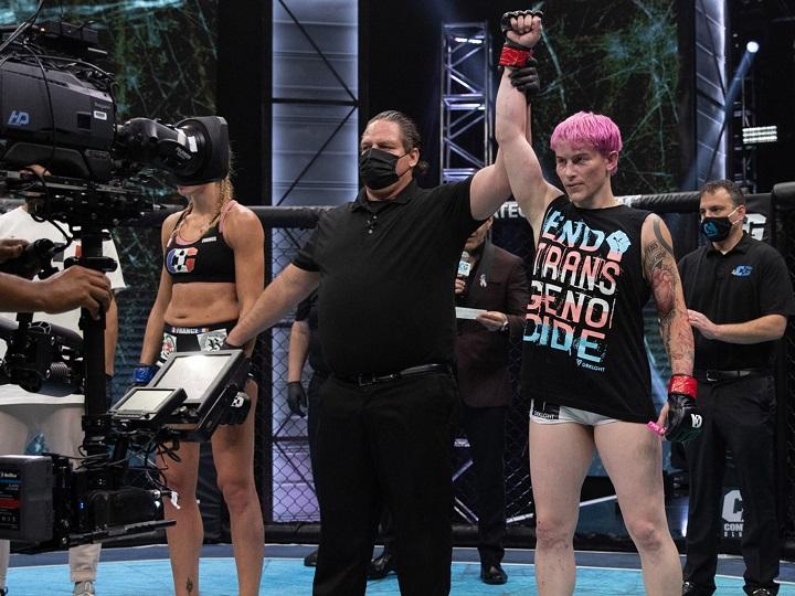 LUTA INJUSTA: Lutadora transgênero, Alana McLaughlin vence em sua estreia no MMA profissional; VEJA VÍDEO