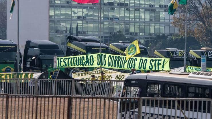 STJ nega habeas corpus coletivo a caminhoneiros que protestam na Esplanada e prisões podem acontecer