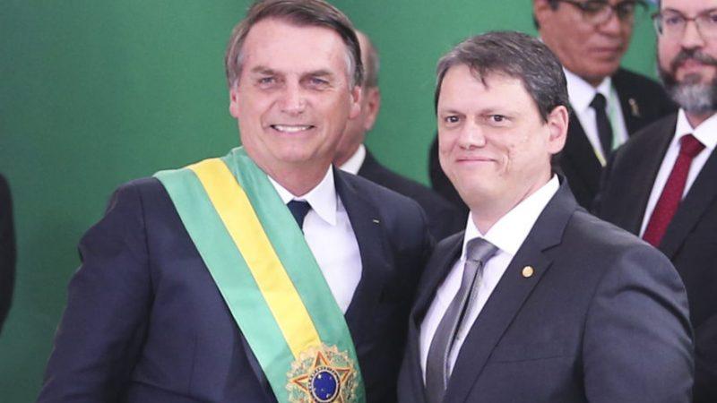 Ministro Tarcísio Freitas avaliará R$ 80 bilhões em projetos para ferrovias