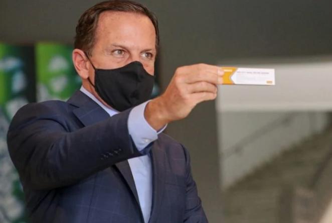 Doria autoriza substituição de lotes da CoronaVac interditados pela Anvisa
