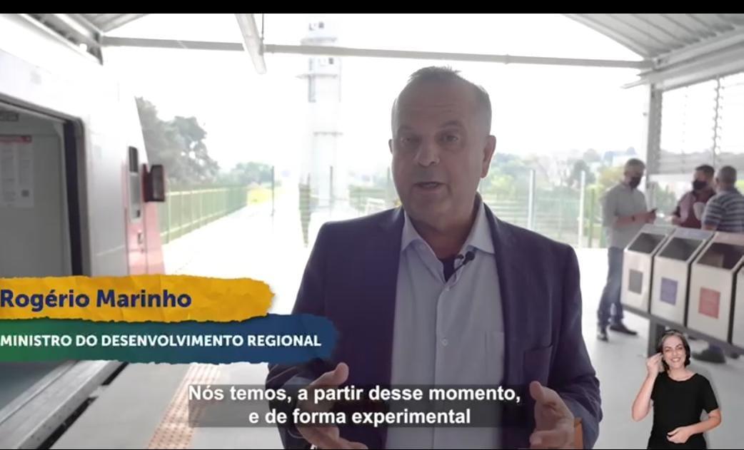 Rogerio Marinho atende pedido de Bolsonaro e leva obra para São Paulo que beneficiará 800 mil pessoas, VEJA VÍDEO