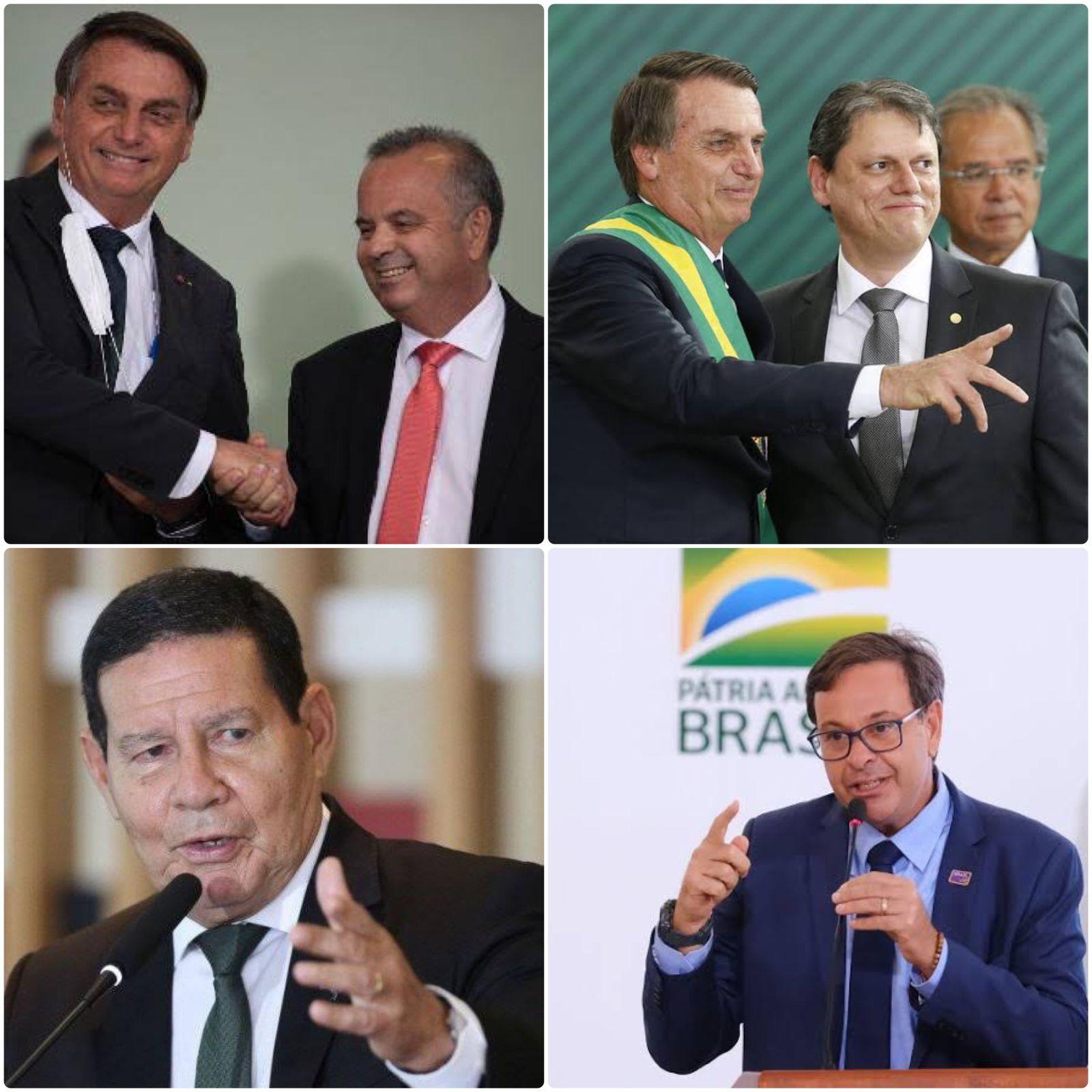 Bolsonaro vai trabalhar para fortalecer base no Senado e já conta com ministros e até o vice-presidente como pré-candidatos