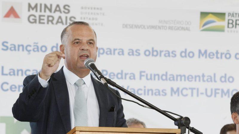 """Jogou duro: Rogério Marinho leva obra gigante para BH e dispara: """"o PT veio aqui, prometeu e nunca fez, Bolsonaro veio e resolveu"""", VEJA VÍDEO"""