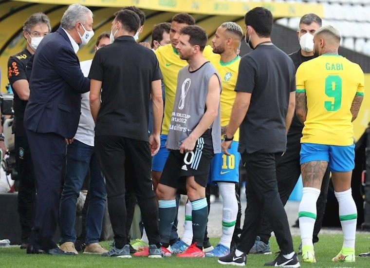Conmebol decide suspender jogo entre Brasil e Argentina
