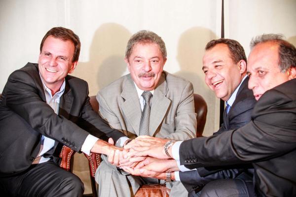 Eduardo Paes quer ser vice de Lula