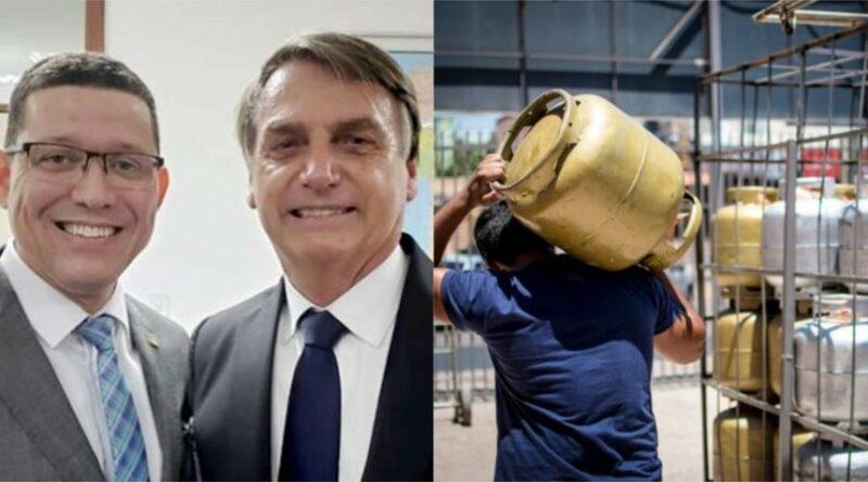 Em acordo com Bolsonaro, governo de Rondônia deve zerar ICMS sobre gás de cozinha, VEJA VÍDEO