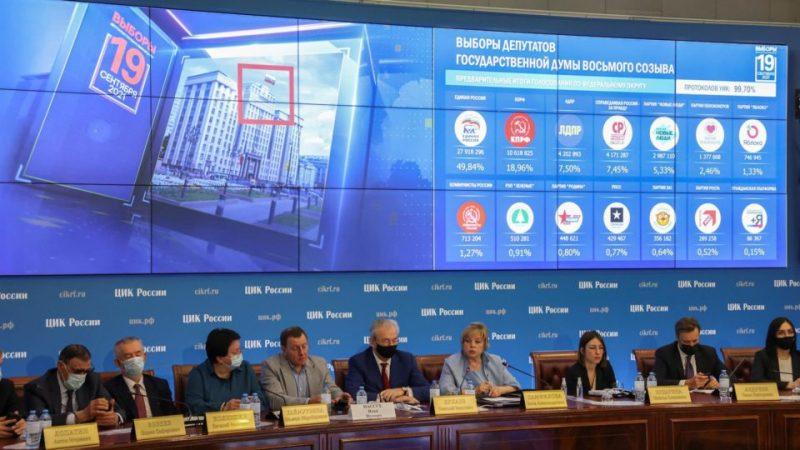 Votos eletrônicos serão recontados em Moscou
