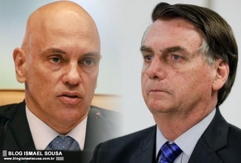Bolsonaro liga para Alexandre de Moraes por intermédio de Temer