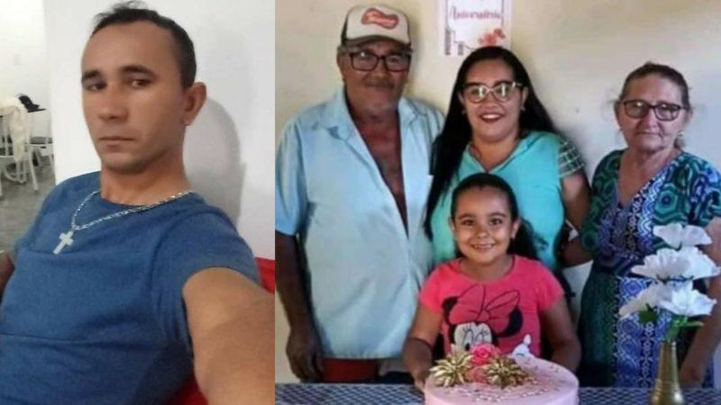 Homem mata ex-mulher, filha, outras 3 pessoas da família e comete suicídio no interior do RN