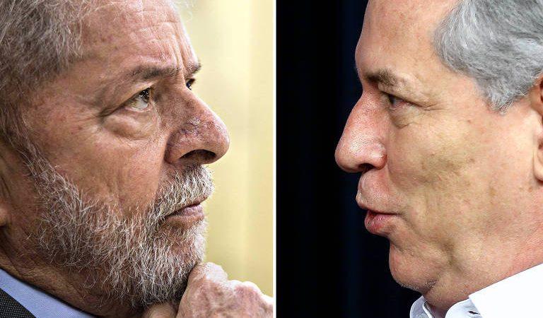 PDT racha com os ataques de Ciro a Lula e Dilma