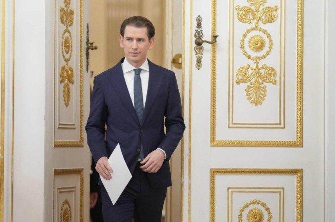 Renuncia ao cargo Sebastian Kurz, Primeiro-ministro da Áustria