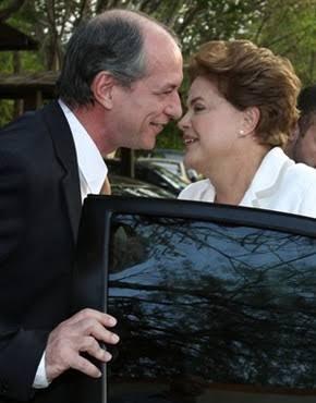 """BRIGA: Ciro Gomes e Dilma Rousseff travam discussão e """"lavagem de roupa suja"""" no Twitter; VEJA DIÁLOGO"""