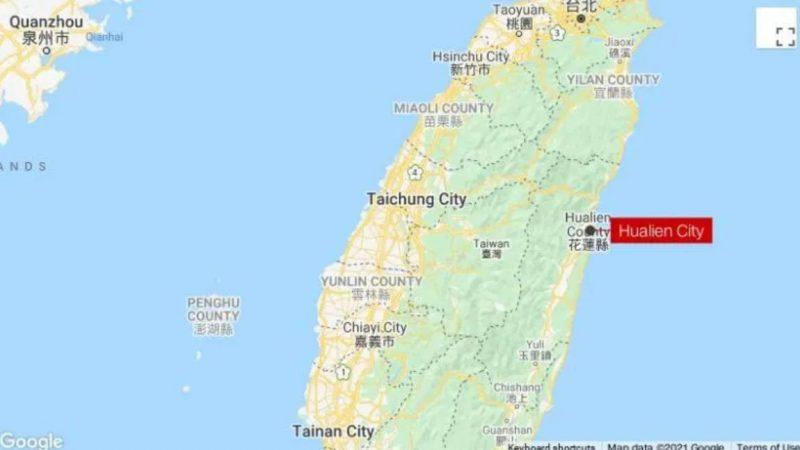 Terremoto de magnitude preliminar 6,5 atinge a costa de Taiwan