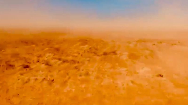 Tempestade de areia é registrada no RN; VEJA VIDEO