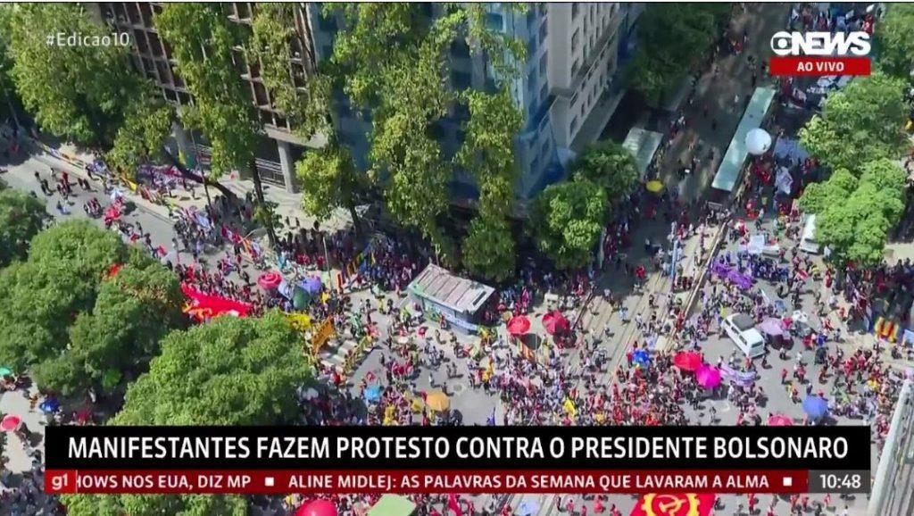 98C4F010-CEFA-4610-8788-513874148C95-1024x578 FIASCO: Manifestações da oposição fracassam, Veja imagens