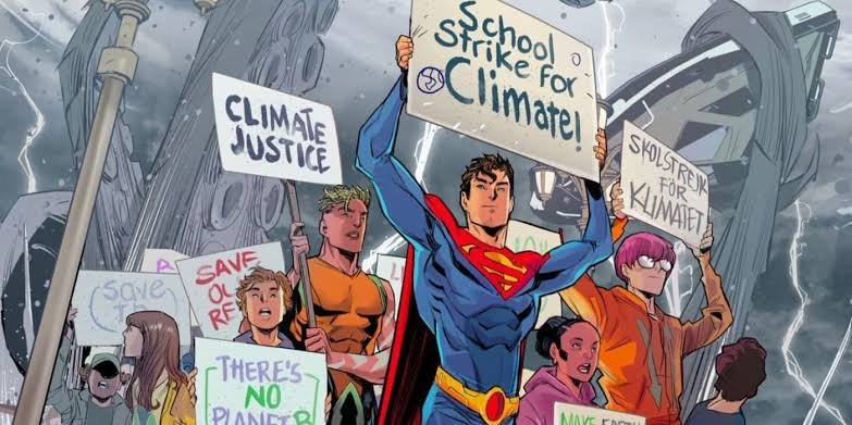 LASCOU: Além de bissexual, Superman vai virar militante e ativista ambiental