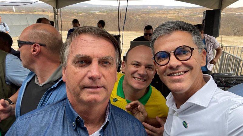 Coronel Azevedo participa da Jornada das Águas com presidente Bolsonaro