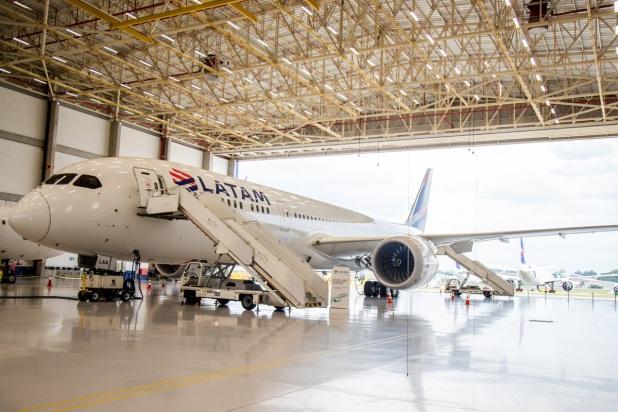 Conheça o Boeing 787-9 Dreamliner, novo avião da Latam Airlines Brasil