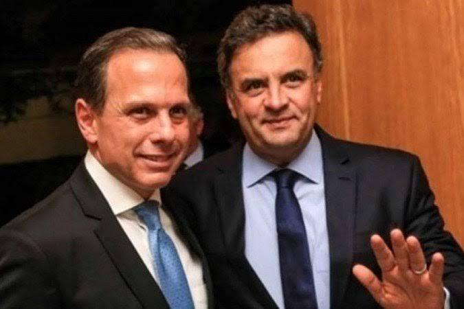 Aécio tem medo que Doria 'afunde' o PSDB