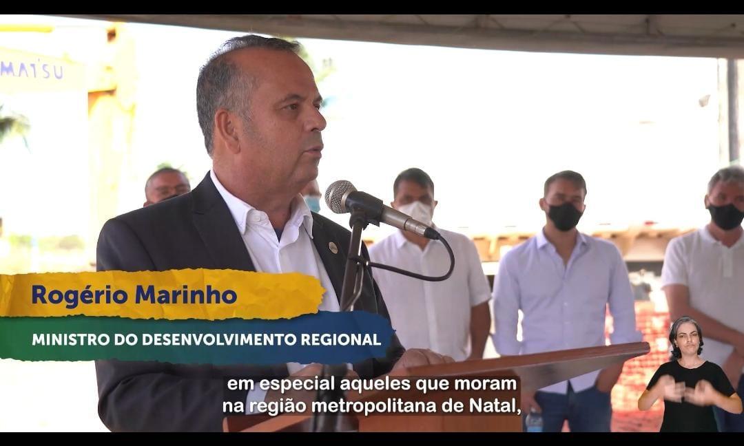 Pegue obra: Rogério Marinho garante recursos para ampliação dos trens urbanos em Natal e região, VEJA VÍDEO