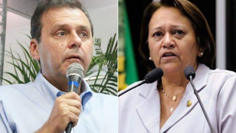 Num possível segundo turno, Carlos Eduardo venceria Fátima, aponta pesquisa