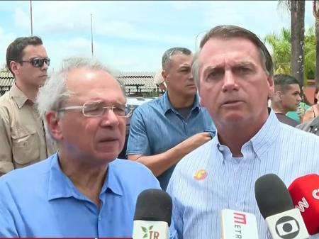 Guedes: Presidente do Senado sabe que estamos no caminho certo