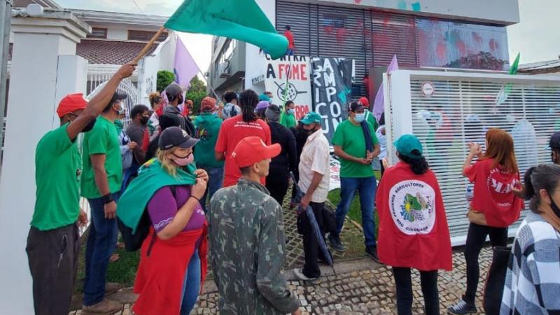 Depois de invasão à Aprosoja, CNA defende produtor rural